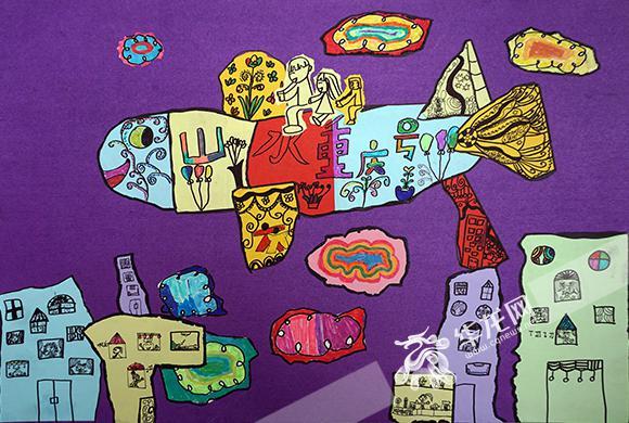 附:儿童手绘秀活动儿童组,幼儿组一等奖作品 儿童组一等奖