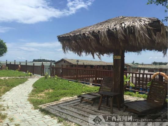 媒体推荐  广西新闻网钦州7月14日讯(记者 黎超)金黄的沙滩,灵动的