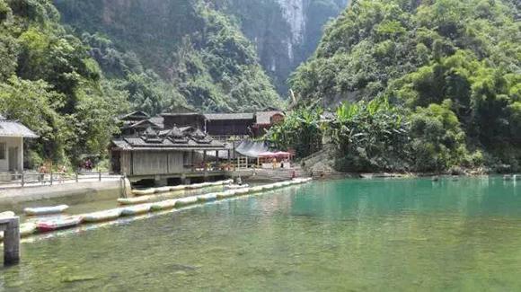 彭水阿依河.图片来源于网络