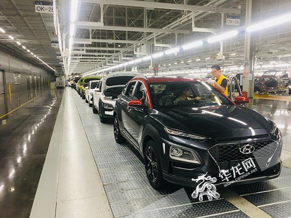 北京现代重庆工厂拥有北京现代最先进的生产工艺技术,是北京现代全国