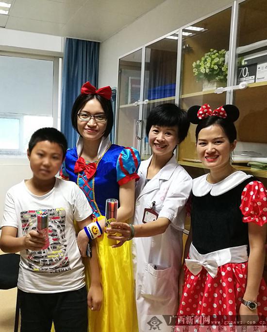 不一样的儿童节.广西江滨医院供图