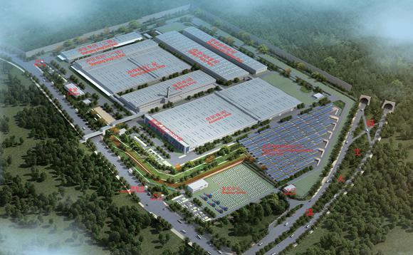 工厂各工艺主厂房已建设完毕,金康汽车年产5万辆纯电动乘用车建设项目