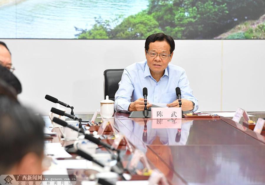 陈武主持召开专题会议 研究生物医药产业跨越发展有关工作