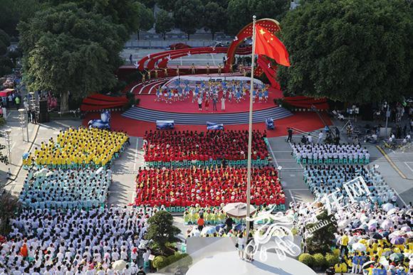 【欢度国庆】致敬改革开放40周年 央视国庆特别节目《唱响新时代》