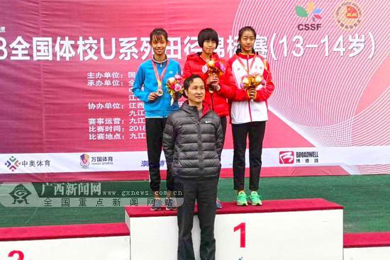 2018全国体校U系列田径锦标赛:广西体校获1银1铜