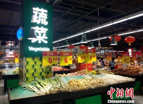 物价材料图。<a target='_blank'  data-cke-saved-href='http://www.chinanews.com/' href='http://www.chinanews.com/' >中新网记者 李金磊 摄