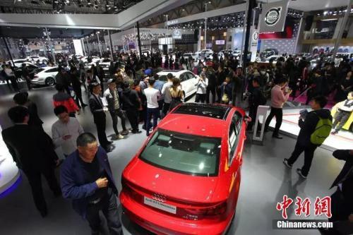 青岛国际车展的新款车型。李梦 摄
