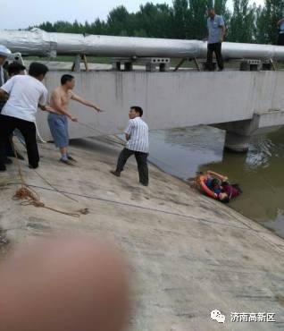 【点赞!】轻生者落水 全站来营救