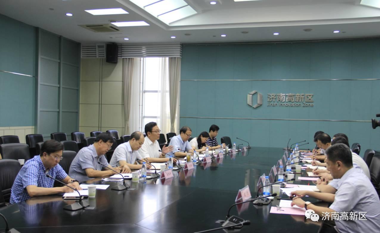 徐群与山东电工电气集团来宾座谈