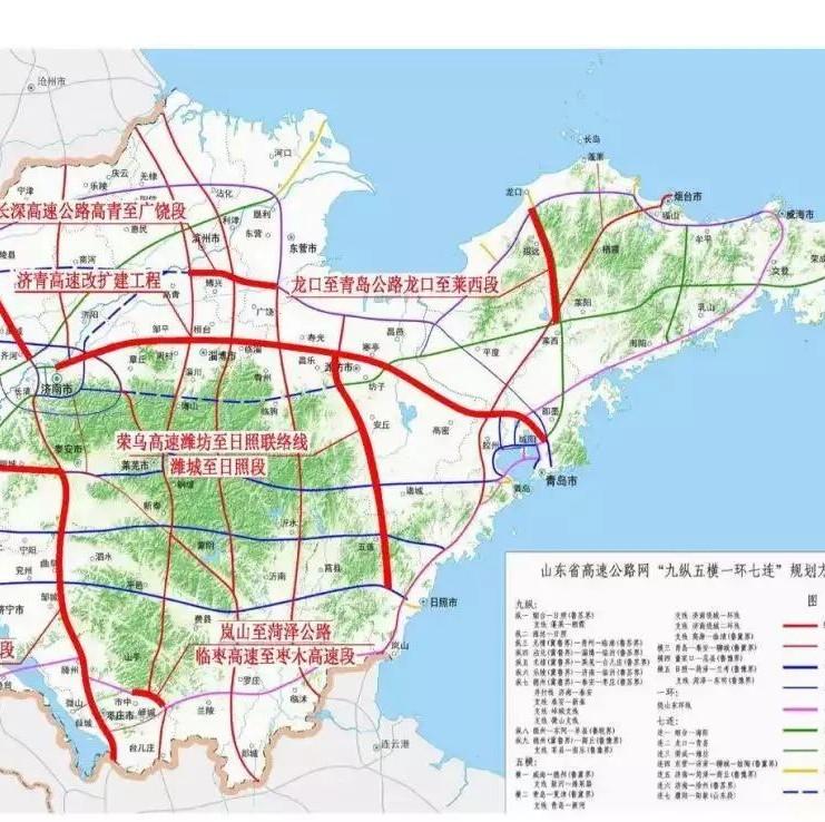 莱阳市区街道地图