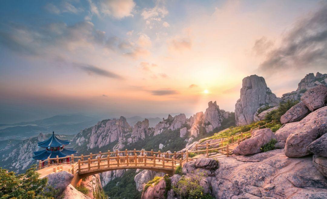华楼山风景区,九水风景区,巨峰风景区,石老人风景区,太清宫风景区
