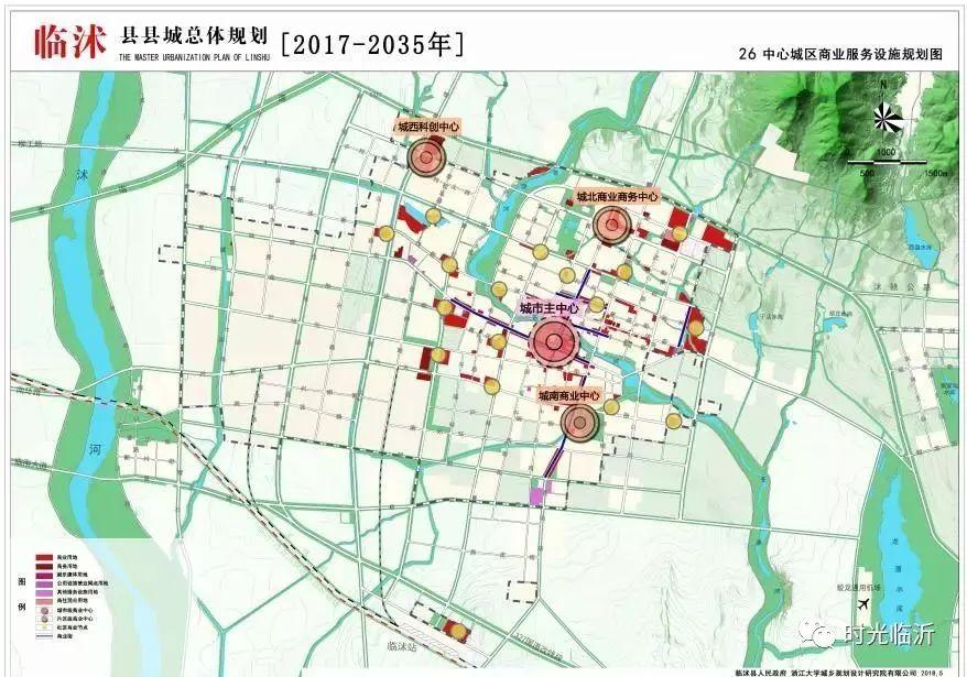 临沭各乡镇地图